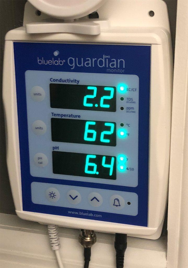 Bluelab Guardian pH, Ec, TDS, temperature meter