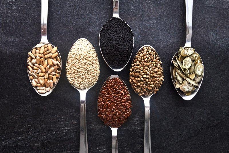 Various seeds, Shutterstock