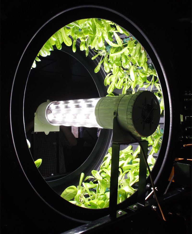 Rotary Hydroponic System