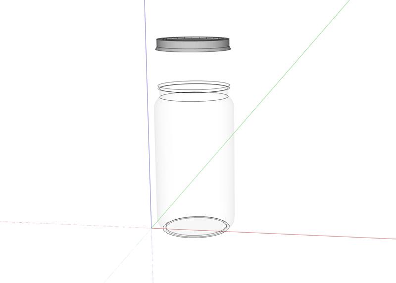 Hydroponic Wick System -Mason-Jar