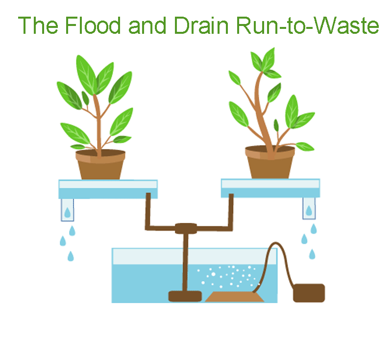 The Flood and Drain Run-to-Waste