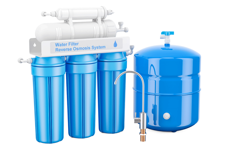 Hydroponics Water Filtration, Reverse Osmosis System